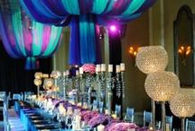 Banqueting Table Layouts / Ideas for beautiful banqueting tables