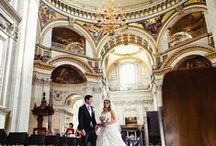 Walking down the aisle / Lovely images of brides walking up the aisle
