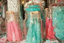 candy clutter / how to store candy beautifully