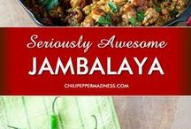 [ Cajun Recipes ] / We just love the flavors of Cajun and Creole Food. If you love cajun food, check out these many cajun recipes.