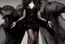 Dark Fashion Goals / Gothic Victorian Style, Black Fashion, Edgy Dark Style, Rock - Grunge Style,Witch style