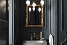 Contemporary Classic//Bathrooms / Timeless elegance makes for a beautiful bathroom.