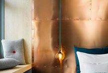 The Metallic Effect//Copper / Great looks with copper that we love.