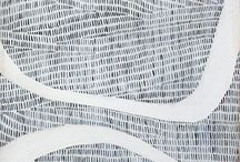 Abstract / Abstract, modern art, gold, blue, black, color, modern art