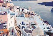 Greece / Beautiful landscapes to make you want to jump on a plane to Greece right away.   /// Estos bellos paisajes provocan montarte en un avion para Grecia inmediatamente.