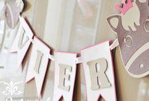 kindergeburtstag Marla / Einladungen, deko, backen etc
