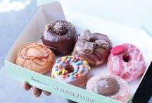 Sweet Dreams / Sweets, noms, pastries and deep-fried joy. A sugar-laden wonderland that dreams are made of.