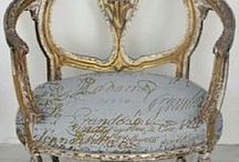 VintageFurnitureKat / why buy new when you can have old??? antiques, vintage furniture and interiors