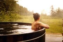 OutdoorBathKat / something about water flowing and being outside in the warm summer months...