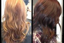 Hair Styles/ Colors/ Length / by Crystal Wheelock
