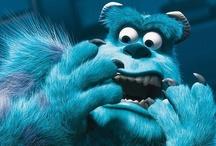 PIXAR / Le studio a réalisé quinze longs-métrages, qui ont débuté avec Toy Story en 1995, et chacun d'eux a reçu un succès critique et commercial. Pixar a poursuivi l'expérience avec 1001 pattes (1998) Toy Story 2 (1999), Monstres et Cie (2001), Le Monde de Nemo (2003), Les Indestructibles (2004), Cars (2006), Ratatouille (2007), WALL-E (2008), Là-haut (2009) (le premier film de Pixar présenté en Disney Digital 3-D), Toy Story 3 (2010), Cars 2 (2011) et Rebelle (2012), Planes(2013) et Monstres Academy.. / by Monsieur Pop