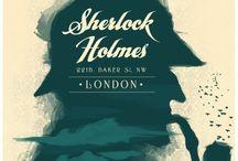 Sherlock Holmes / Élémentaire  / by Monsieur Pop