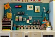 Kids desk area / by M Sanders