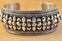 Jewelry_Bakelite_NativeAmerican_MexicanSilver / by Kim O