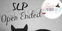 SLP: Open Ended Activities