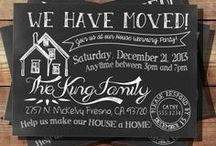 Housewarming Party Ideas / Housewarming party ideas for a new home after moving in