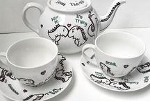 Tea / Handgemaakt servies