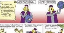 Mis cómics / My comics / Cómics sobre la historia de España con guión y dibujos de Díez Lasangre / Comics about history o Spain, written and illustrated by Diez Lasangre.