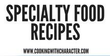 Specialty Food Recipes / These pins are for recipes for specialty foods - like sugar free, allergy free foods.