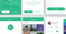 Mobile UI Design / Kumpulan design Mobile UI