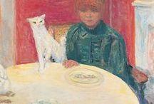 pintura nabí / Incluye obras del grupo de los nabis y algunas obras de su pintor referente Paul Gauguin. Fundamentalmente la obra de Pierre Bonard