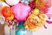 Bridal Party Style + Flowers / by Vanessa King