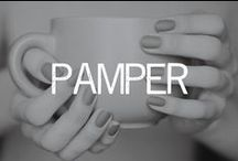 PAMPER / by Linsey Gray