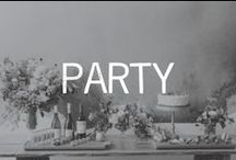 PARTY / festive inspiration / by Linsey Gray