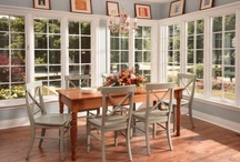 Dining Rooms / Dining Rooms, Breakfast Nooks, Eat-in kitchen areas completed by Normandy Remodeling in the Chicago metro area.