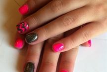 hair nails makeup check / by Alexis Bacon