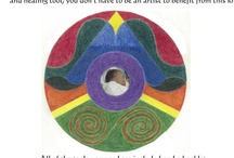 Healing with Art / Memorial Mandala Kits for parents who've experienced infant/pregnancy loss. Creating a Memorial Mandala© is a profound way to express grief because the nature of the mandala is containment. The mandala will contain your grief so that it can be expressed safely. By memorializing your baby in a mandala, you have a beautiful creation that symbolizes the beautiful creation that was your infant. This kit shows you how mandalas work, provides the most effective tools to create one to honor your baby.