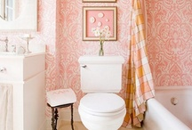 Design Inspiration - PINK / Home decor, home designs, and living spaces with hints and pops of pink.