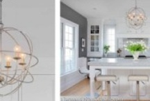 Lighting Ideas / Chandelier, pendant, spot, and decorative lighting that play a design role in the home.