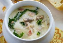 Food: Soup and Hearty Meal Recipes / These soup recipes and other hearty meals are comfort foods made to warm your belly!
