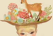 Illustrations / Illustrations / by Nuri Kharissa