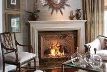 Fireplaces / Indoor and outdoor fireplace ideas.
