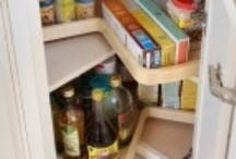 Organizing and Storage Ideas / Make the most of small spaces through unique storage solutions.  Organization is key to maximizing space, and these ideas show creative solutions to storage challenges.