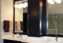 Small Bathroom Storage Ideas / Small bathroom storage ideas to incorporate when remodeling or renovating the hall bath, powder room or master bathroom.