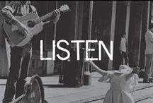 LISTEN / by Linsey Gray