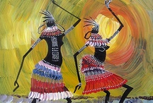African Artwork / Pictures of traditional African artwork. / by Russ Keith