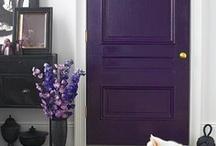 Doorway, Foyer & Staircase Designs / Unique entry ways