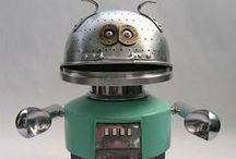 Found Object Robots / Robots / by Russ Keith