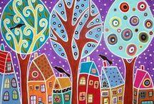 knutsels schilderen / by Cindy De Wolf