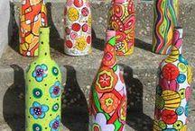 knutsels flessen / by Cindy De Wolf