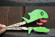 knutsels wasknijpers / by Cindy De Wolf