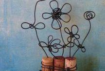 knutsels ijzerdraad / by Cindy De Wolf
