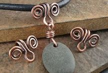 Jewelry Making / Beads, wire, stones, cord.