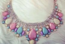 Costume Jewelry / Big & brassy baubles - I love a giant cocktail ring or a rhinestone statement necklace.