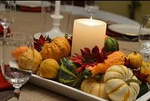 Fall Decor / Everything Autumn, Harvest, and Fall for Decorating the Home Seasonally.