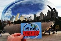 Find Adventures! / Be a part of the movement to #findadventure in your life. Get a sticker from AdventuresofEmptyNesters.com and take a photo of your next adventure!
